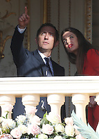 Gad Elmaleh and Charlotte Casiraghi attend the official presentation of the Monaco Twins - Monaco