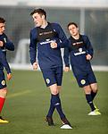 19.3.2018: Scotland u21 training:<br /> John Souttar