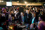 JOHANNESBURG, SOUTH AFRICA - JUNE 27:  Jacob Zuma, (c), the ANC president is approached by black business people while attending a gala dinner organized by the Black Management Forum on June 27, 2008, at Emperors, a posh casino hotel in Johannesburg, South Africa. Mr. Zuma, the possible future president of South Africa, was the keynote speaker at the event. Many businesspeople wanted to get close to the man that would possible rule the country for years to come. South Africa is holding general elections on April 22, 2009. (Photo by: Per-Anders Pettersson/Getty Images)..