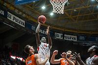 VALENCIA, SPAIN - NOVEMBER 18: Bandja Sy during EUROCUP match between Valencia Basket Club and CAI SLUC Nancy at Fonteta Stadium on November 18, 2015 in Valencia, Spain
