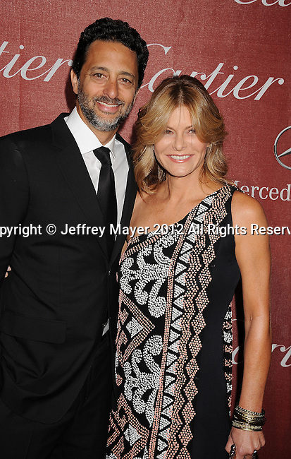 PALM SPRINGS, CA - JANUARY 07: Grant Heslov and Lisa Heslov arrives at the 2012 Palm Springs Film Festival Awards Gala at the Palm Springs Convention Center on January 7, 2012 in Palm Springs, California.