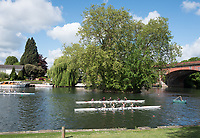 Maidenhead. Berkshire. United Kingdom. General view Competitors, after their race,  Maidenhead RC Boathouse. 2017 Maidenhead Junior Regatta  River Thames. <br /> <br /> [&copy;Peter SPURRIER/Intersport Images] Sunday. 14.05.2017