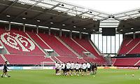 Mannschaftsbesprechung in der OPEL Arena - 10.06.2019: Abschlusstraining der Deutschen Nationalmannschaft vor dem EM-Qualifikationsspiel gegen Estland, Opel Arena Mainz