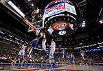 "LOS ANGELES, CA - MARCH 12:  ""One Day One Game"" # of the Los Angeles Clippers against # of the Golden State Warriors during their NBA Game at the Staples Center  on March 12, 2014 in Los Angeles, California.  (Photo by Donald Miralle for ESPN the Magazine)"