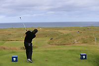 Fabrizio Zanotti (PAR) tees off the par3 14th tee during Thursday's Round 1 of the 2018 Dubai Duty Free Irish Open, held at Ballyliffin Golf Club, Ireland. 5th July 2018.<br /> Picture: Eoin Clarke | Golffile<br /> <br /> <br /> All photos usage must carry mandatory copyright credit (&copy; Golffile | Eoin Clarke)