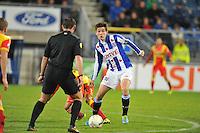 VOETBAL: ABE LENSTRA STADION: HEERENVEEN: 30-11-2013, SC Heerenveen - Go Ahead Eagles, uitslag 3-1, Marten de Roon (#15 | SCH), ©foto Martin de Jong