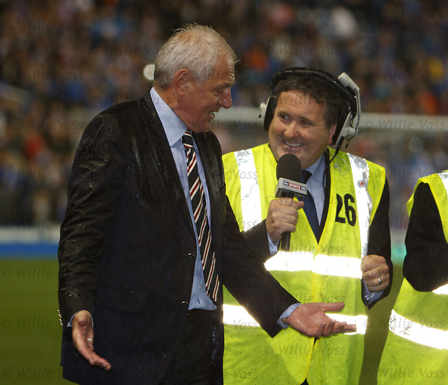 Walter Smith tells Peter Martin of Sky beat it