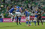 Atlético Nacional venció como local 3-0 (4-2 en el global) a Millonarios. Cuartos de final vuelta Liga Águila II-2016.