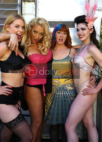 Carrie Keagan, Jennifer Blanc, Staci Layne Wilson, Tristan Risk<br />