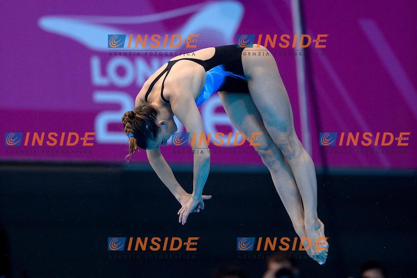 Tania CAGNOTTO ITA Italy Gold Medal <br /> Women's 3m Springboard Final <br /> London, Queen Elizabeth II Olympic Park Pool <br /> LEN 2016 European Aquatics Elite Championships <br /> Diving  <br /> Day 06 14-05-2016<br /> Photo Andrea Staccioli/Deepbluemedia/Insidefoto