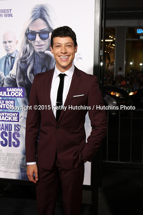 "LOS ANGELES - OCT 26:  Reynaldo Pacheco at the ""Our Brand is Crisis"" LA Premiere at the TCL Chinese Theater on October 26, 2015 in Los Angeles, CA"