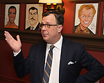 Brooks Ashmanskas during the Beth Leavel Portrait unveiling at Sardi's on 3/26/2019 in New York City.