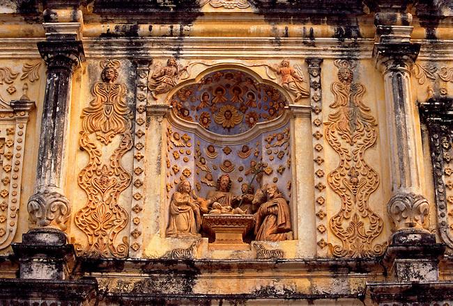 Belen Church, Antigua, Sacatepequez Department, Guatemala, Central America