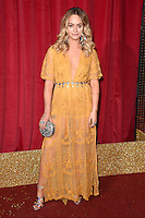 Jennifer Brooke<br /> arrives for the British Soap Awards 2016 at Hackney Empire, London.<br /> <br /> <br /> &copy;Ash Knotek  D3124  28/05/2016