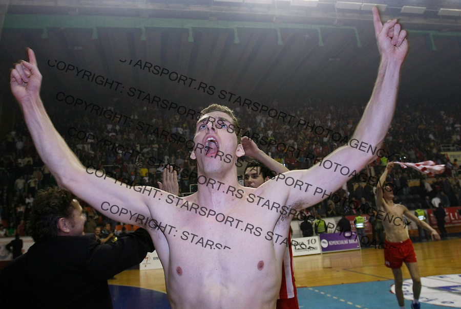 Odbojka,  sezona 2007/08.Radnicki (Kg) Vs. Crvena Zvezda.Tomislav Dokic.Kragujevac, 08.03.2008.foto: Srdjan Stevanovic