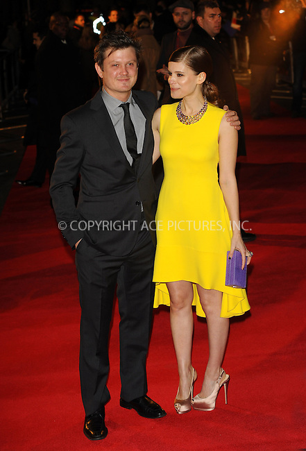 WWW.ACEPIXS.COM....US Sales Only....January 17 2013, London....Beau Willimon and Kate Mara at the premiere of 'House of Cards' on January 17 2013 in London....By Line: Famous/ACE Pictures......ACE Pictures, Inc...tel: 646 769 0430..Email: info@acepixs.com..www.acepixs.com