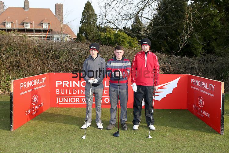 Principality Junior Wales Open 2013.Radyr Golf Club.27.03.13..©Steve Pope