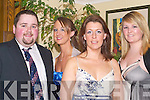IT: Attending the IT Sports Award at the Earl of Desmond Hotel, Tralee on Thursday night were l-r: Jerry Kellihaer,Denise Shanahan,Norma Mulcahy and Erin Hackett. ..   Copyright Kerry's Eye 2008