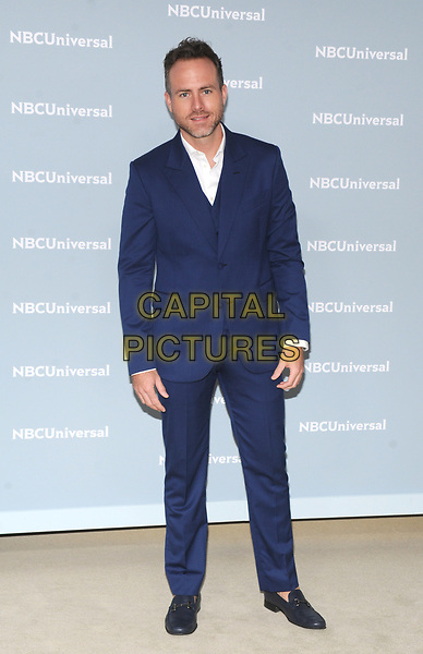 NEW YORK, NY - MAY 14: Erik Hayser at the 2018 NBCUniversal Upfront at Rockefeller Center in New York City on May 14, 2018. <br /> CAP/MPI/PAL<br /> &copy;PAL/MPI/Capital Pictures