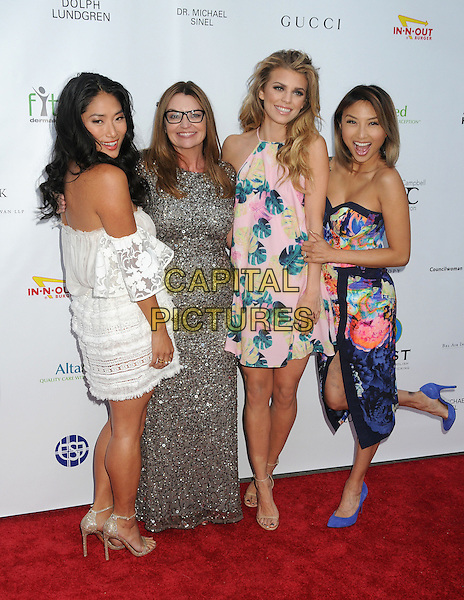 21 May 2015 - Los Angeles, California - Chloe Flower, Kay Buck, AnnaLynne McCord, Jeannie Mai. 17th Annual CAST From Slavery to Freedom Gala held at The Skirball Center.  <br /> CAP/ADM/BP<br /> &copy;Byron Purvis/AdMedia/Capital Pictures