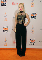 15 April 2016 - Beverly Hills, California - Dove Cameron. Arrivals for the 23rd Annual Race To Erase MS Gala held at Beverly Hilton Hotel. Photo Credit: Birdie Thompson/AdMedia