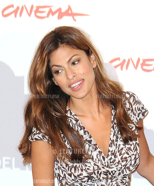 Eva Mendes attends the Last Night photocall during the 5th annual Rome Film Festival in Rome, Italy. .October 28, 2010  Rome, IT.Picture: Petra / Featureflash