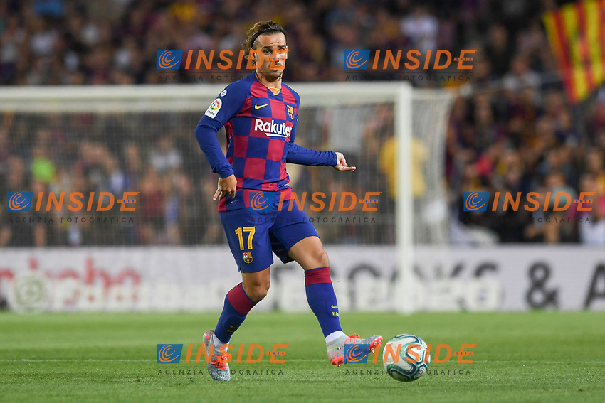 FOOTBALL: FC Barcelone vs Real Betis - La Liga-25/08/2019<br /> Griezmann (FCB)<br /> <br /> <br /> 25/08/2019 <br /> Barcelona - Real Betis  <br /> Calcio La Liga 2019/2020  <br /> Photo Paco Largo/Panoramic/insidefoto
