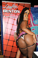 Layton Benton at Exxxotica, Broward County Convention Center, Fort Lauderdale, FL, Friday May 2, 2014.