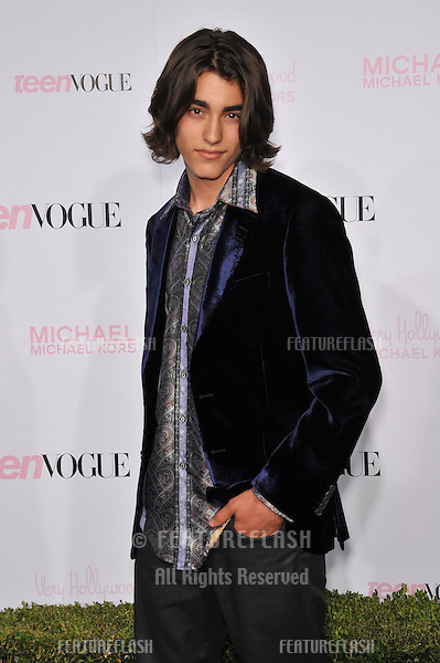 Blake Michael at the 8th Annual Teen Vogue Young Hollywood Party in partnership with Michael Kors at Paramount Studios, Hollywood..October 1, 2010  Los Angeles, CA.Picture: Paul Smith / Featureflash