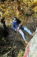 repel climb blue ridge rock