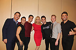 GL's Sean McDermott - The  Boy Band Project (Chris Messina, Neil Starkenberg, Travis Newbitt, Jamison Scott) - Another World's Judy Mclane AMC's Jonathan Bennett (JR Chandler) - 30th Anniversary of the Jane Elissa Extravaganza to benefit The Jane Elissa Charitable Fund for Leukemia & Lymphoma Cancer, Broadway Cares & other charities on October 30. 2017 at the New York Marriott Marquis, New York, New York. (Photo by Sue Coflin/Max Photo)