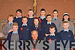 Pupils from Ballydesmond NS who made their confirmation in St Patrick's church Ballydesmond on Friday front row l-r: Katie Sheehan, Bishop Bill Murphy, Ricky Kearney, Aidan Kerins. Back row: Martin Nolan, Jamie Angland, Matthew Collins, Andrew Cronin, Katie Herlihy, Liam Murphy, Radek Kozlowski, Mairead Brosnan and Laurie Casey    Copyright Kerry's Eye 2008