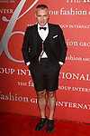Fashion designer Thom Browne arrives at The Fashion Group International's Night of Stars 2017 gala at Cipriani Wall Street on October 26, 2017.