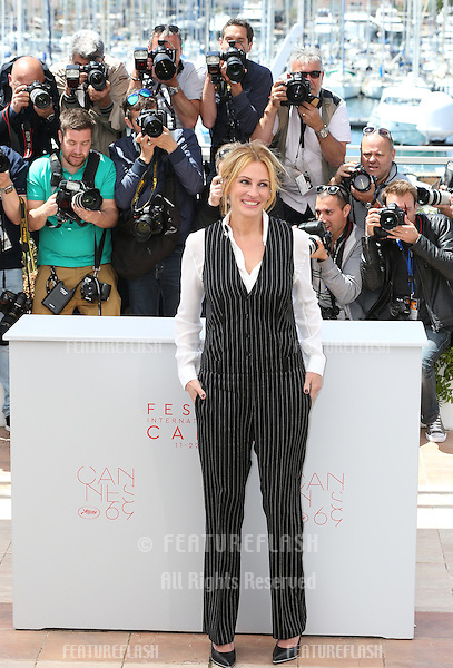 Julia Roberts attend the 'Money Monster' photocall during the 69th annual Cannes Film Festival at the Palais des Festivals on May 12, 2016 in Cannes<br /> Picture: Kristina Afanasyeva / Featureflash