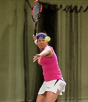 March 5, 2015, Netherlands, Hilversum, Tulip Tennis Center, NOVK,  Iefje Weinberg (NED)<br /> Photo: Tennisimages/Henk Koster