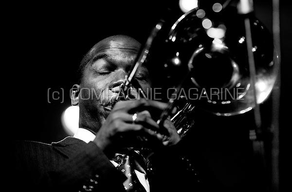 "The David Murray plays Nat King Cole ""en Español"" concert at the Jazz Middelheim festival in Antwerp (Belgium, 16/08/2009)"