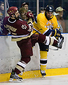 Matt Lombardi (BC - 24), Pat Bowen (Merrimack - 4) - The Merrimack College Warriors defeated the Boston College Eagles 5-3 on Sunday, November 1, 2009, at Lawler Arena in North Andover, Massachusetts splitting the weekend series.