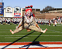 Chief Illini performs at halftime of the game between Illinois and Northwestern on November 19, 2005 at Memorial Stadium in Champaign, Illinois.  Northwestern defeated Illinois 38-21.