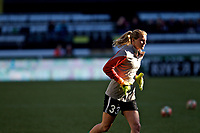 Portland, OR - Saturday May 06, 2017: Britt Eckerstrom during a regular season National Women's Soccer League (NWSL) match between the Portland Thorns FC and the Seattle Reign FC at Providence Park.