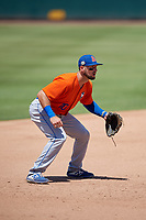 St. Lucie Mets third baseman Cody Bohanek (10) during a Florida State League game against the Bradenton Marauders on July 28, 2019 at LECOM Park in Bradenton, Florida.  Bradenton defeated St. Lucie 7-3.  (Mike Janes/Four Seam Images)