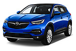 2018 Opel Grandland X Innovation 5 Door SUV angular front stock photos of front three quarter view