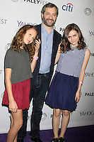 """Iris Apatow, Judd Apatow, Maude Apatow<br /> at """"Girls"""" at PaleyFEST LA 2015, Dolby Theater, Hollywood, CA 03-08-15<br /> David Edwards/DailyCeleb.com 818-249-4998"""