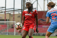 Bridgeview, IL - Saturday June 17, 2017: Cheyna Williams during a regular season National Women's Soccer League (NWSL) match between the Chicago Red Stars and the Washington Spirit at Toyota Park. The match ended in a 1-1 tie.