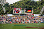 Tonga vs Guyana during the HSBC Sevens Wold Series Qualifier match as part of the Cathay Pacific / HSBC Hong Kong Sevens at the Hong Kong Stadium on 28 March 2015 in Hong Kong, China. Photo by Juan Manuel Serrano / Power Sport Images