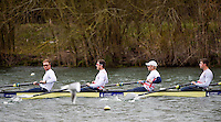 Caversham. Berkshire. UK<br /> GBR M8+. left to right. Will SATCH, Matt LANGRIDGE, Andy TRIGGS HODGE and Pete REED.<br /> 2016 GBRowing European Team Announcement,  <br /> <br /> Wednesday  06/04/2016 <br /> <br /> [Mandatory Credit; Peter SPURRIER/Intersport-images]