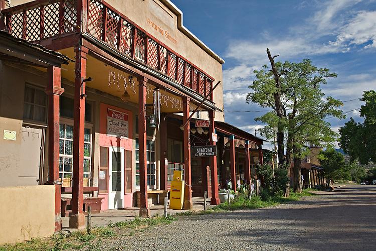 Historic buildings of Los Cerrillos, New Mexico