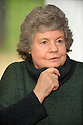 A S Byatt,writer , in Christchurch College Oxford at The Oxford Literary Festival 2010.CREDIT Geraint Lewis