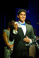SURFERS PARADISE, Queensland/Australia (Friday, March 1, 2013) Gabriel Medina (BRA).  - The world's best surfers congregated last night at the QT Hotel in Surfers Paradise to celebrate the 2013 ASP World Surfing Awards, officially crowning last year's ASP World Champions and welcoming in the new year..Joel Parkinson (AUS), 31, long considered to be a threat to the ASP World Title ever since his inception amongst the world's elite over a decade ago, was awarded his maiden crown last night. Amidst a capacity crowd of the world's best surfers and hometown supporters, the Gold Coast stalwart brought the house down with a heartfelt and emotional speech..?It's beautiful to have everyone here tonight,? Parkinson said. ?We all come together and really celebrate last season amongst our friends and family. The new year, for me, begins tomorrow. Tonight, I just feel so fortunate to be up here and to be supported by my beautiful family. I love them and am only here because of them.?.FULL LIST OF AWARDS' RECIPIENTS:.2012 ASP World Champion: Joel Parkinson (AUS).2012 ASP World Runner-Up: Kelly Slater (USA).2012 ASP Rookie of the Year: John John Florence (HAW).2012 ASP Women's World Champion: Stephanie Gilmore (AUS).2012 ASP Women's World Runner-up: Sally Fitzgibbons (AUS).2012 ASP Women's Rookie of the Year: Malia Manuel (HAW).2012 ASP Breakthrough Performer: Sebastian Zietz (HAW).2012 ASP Women's Breakthrough Performer: Lakey Peterson (USA).2012 ASP World Longboard Champion: Taylor Jensen (USA).2012 ASP Women's World Longboard Champion: Kelia Moniz (HAW).2012 ASP World Junior Champion: Jack Freestone (AUS).2012 ASP Women's World Junior Champion: Nikki Van Dijk (AUS).ASP Life Member/Chairman Emeritus: Richard Grellman.ASP Service to the Sport: Randy Rarick.Peter Whittaker Award: Adrian Buchan.2012 ASP Men's Heat of the Year (Fan Vote): Mick Fanning (AUS) vs. Kelly Slater (USA) - Rip Curl Pro Bells Beach.2012 ASP Women's Heat of the Year (Fan Vote): Laura Enever (AUS) vs. Tyler Wr