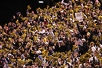 4 November 2006: Wake Forest fans celebrate the first Wake Forest touchdown. Wake Forest defeated Boston College 21-14 at Groves Stadium in Winston-Salem, North Carolina in an Atlantic Coast Conference college football game.