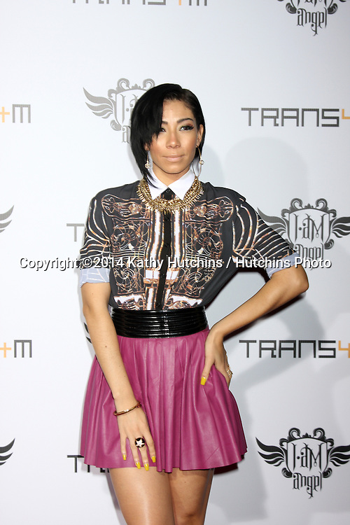 LOS ANGELES - JAN 23:  Bridget Kelly at the Annual Trans4m Benefit Concert at Avalon on January 23, 2014 in Los Angeles, CA